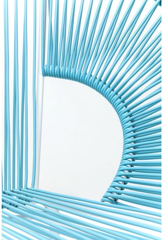 Kare Design Kare Bank Spaghetti Licht Blauw