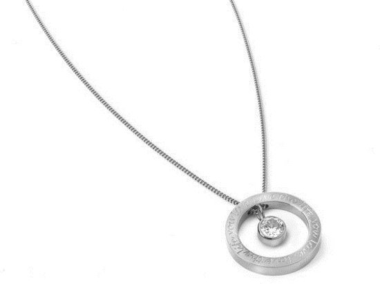 Ketting - Live the life you love, love the life you live - Witgoud