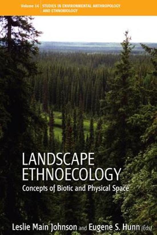 Landscape Ethnoecology