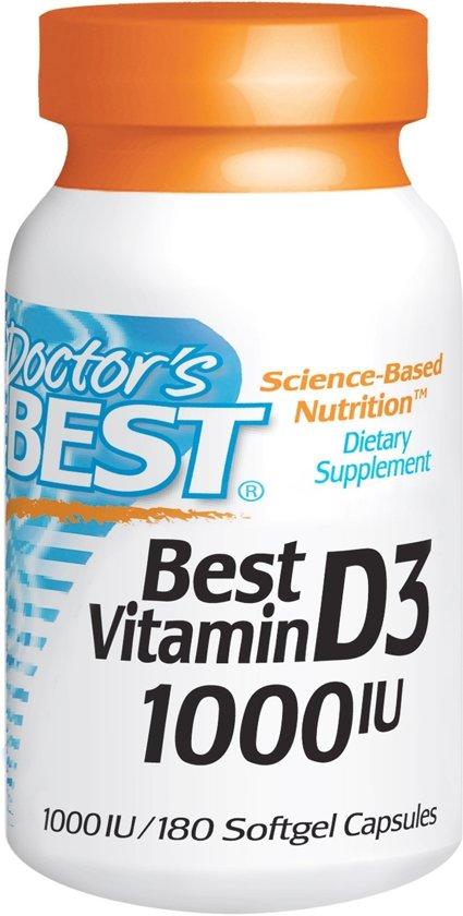 Doctors Best Best Vitamine D3 - 1000iu