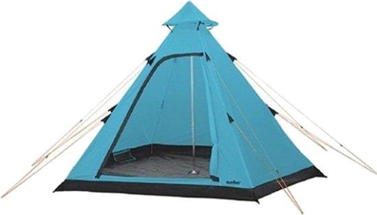 Summit Tent Hydrahalt 4-persoons 275 X 300 X 205 Cm Blauw