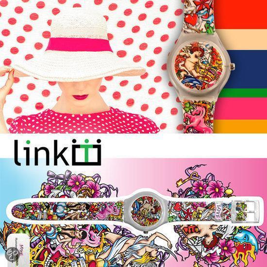 Linkgraphix horloge Love - diameter 40 mm