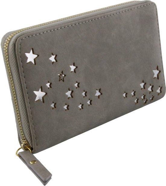 grijze portemonnee