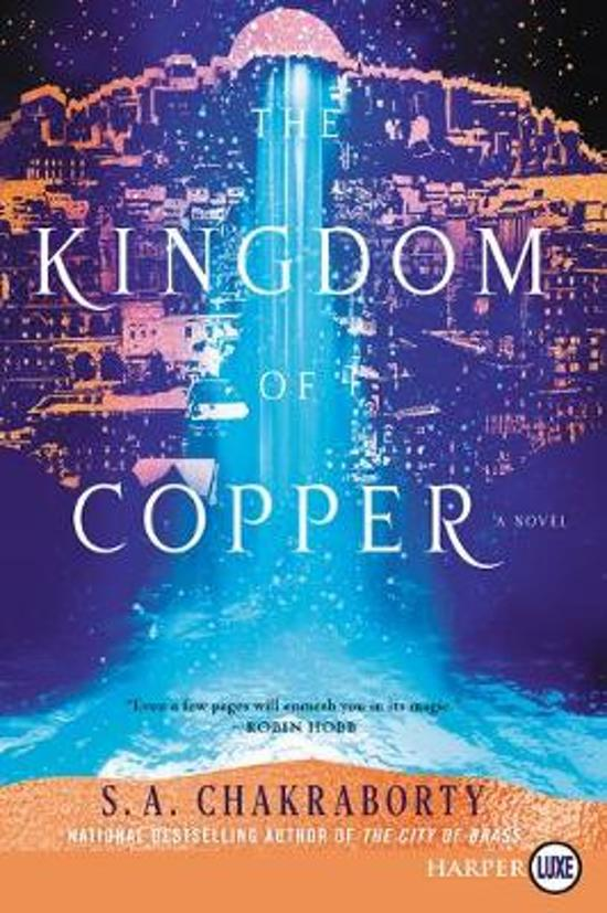 The Kingdom Of Copper [Large Print]