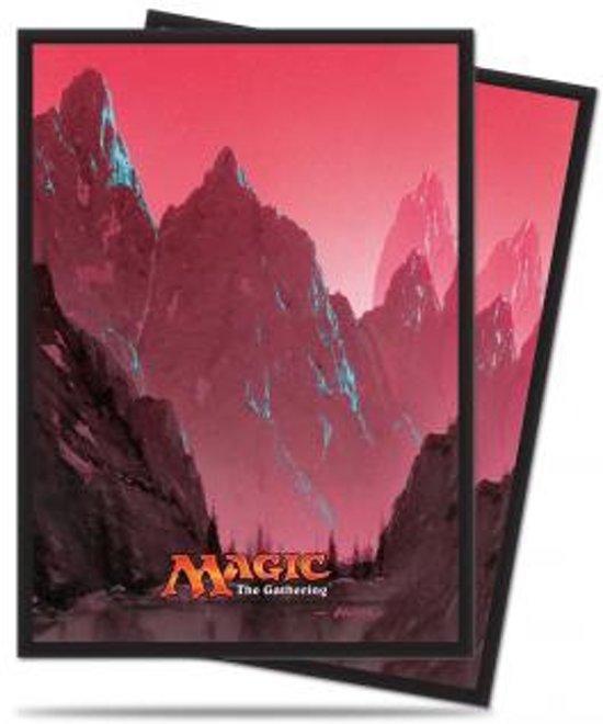 Afbeelding van het spel Standard Sleeves MTG: Mana 5 Mountain 80