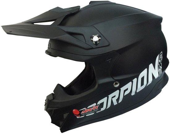 Scorpion Crosshelm VX-15 Evo Air Matt Black-XS
