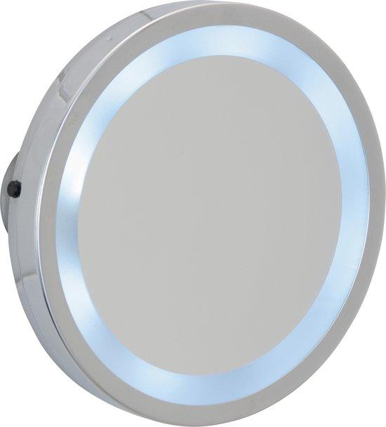 Spiegel Met Zuignap.Vergroot Spiegel Met Led Verlichting En Zuignappen