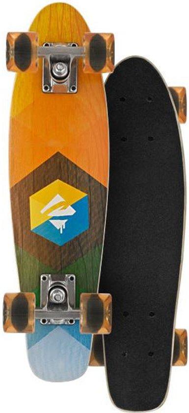 Choke skateboard juicy woody 57 cm oranje