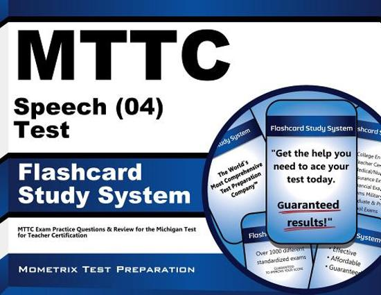 Afbeelding van het spel Mttc Speech (04) Test Flashcard Study System