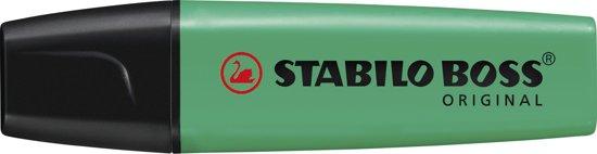 STABILO BOSS ORIGINAL Markeerstift Groen - per stuk