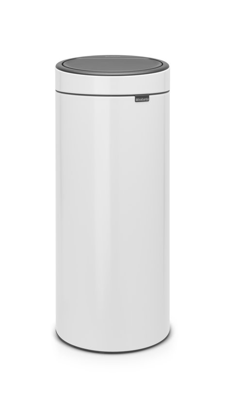 Brabantia Touch Bin 30 Liter White