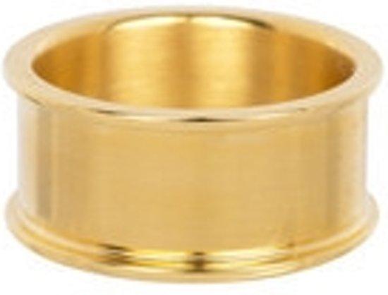 IXXXI Basisring goudkleurig 10mm - maat 20,5