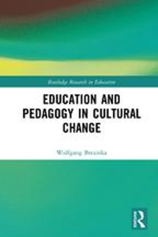 Education and Pedagogy in Cultural Change