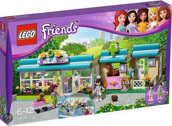 Bolcom Lego Friends Drukke Dierenkliniek 3188 Lego Speelgoed