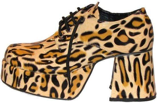 Extreem bol.com   Luipaard print plateau schoenen voor heren 44-45  VN03