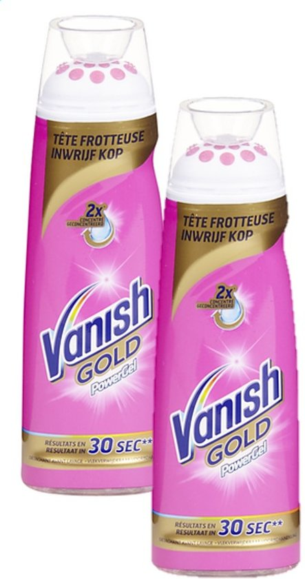 Vanish - Gold Power Gel - vlekverwijderaar - 2 x 200 ml