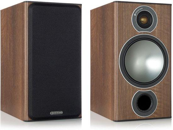 Monitor Audio Bronze 2 - Boekenplank Speaker - Walnoot