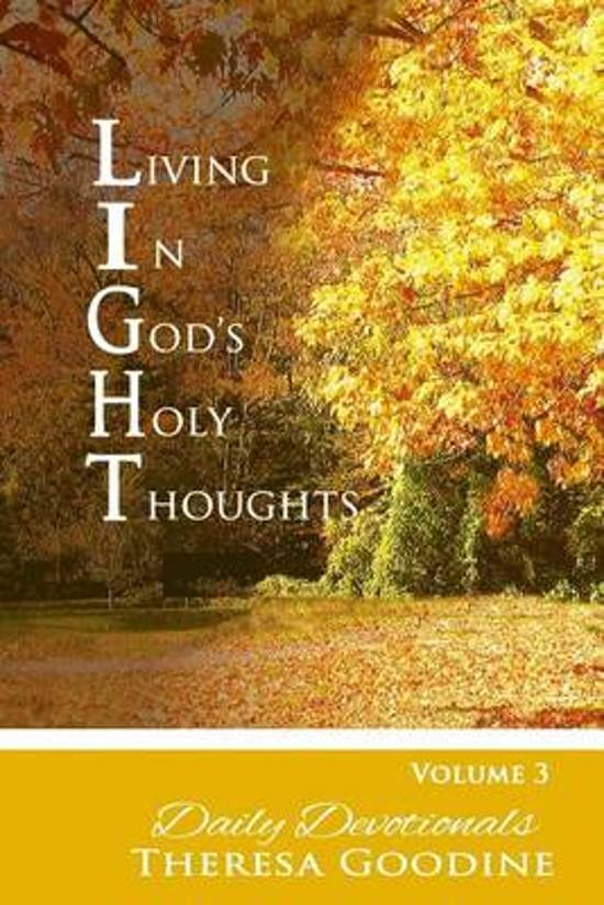 Living in God's Holy Thoughts, Devotional