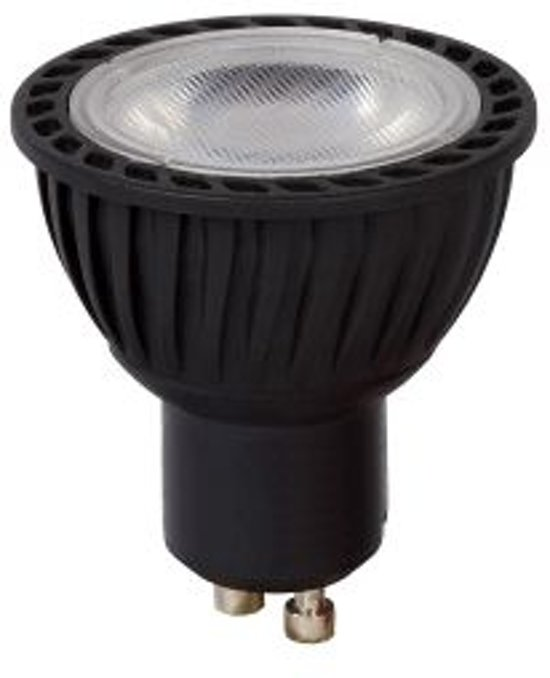 Lucide LED BULB - Led lamp - Ø 5 cm - LED Dimb. - GU10 - 1x5W 3000K - Zwart
