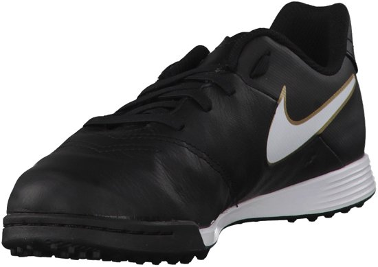 Nike Tiempo Legend VI TF Black Metallic -35