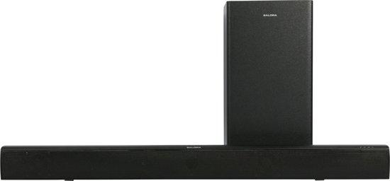 Salora SBO880 soundbar luidspreker 2.1 kanalen 80 W Zwart