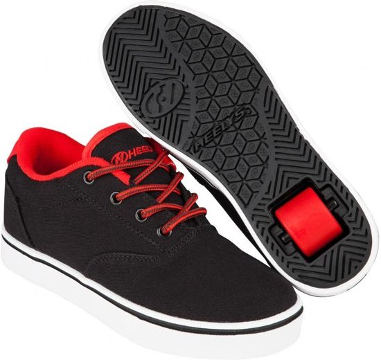 Chaussures À Roulettes Heelys Lance Noir / Rouge - Chaussures De Sport - Enfants - Taille 34 - Noir / Rouge zZFvC0jY1