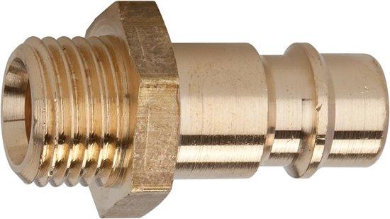 Steeknippel NW7,2 MS AG G3/8 v.kopp. Riegler
