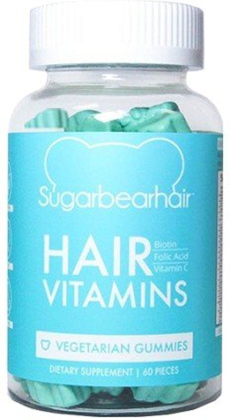 Sugar Bear Hair Vitamins Voedingssupplement - 60 gummies