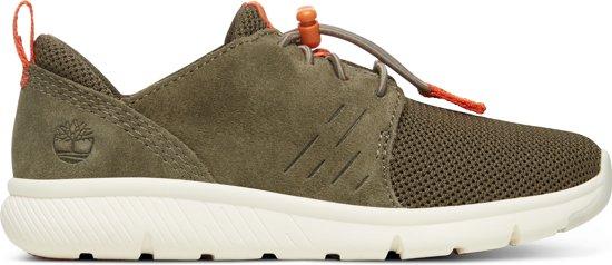 f62b35d52ce Timberland Boltero Low W/Bungee Jongens Sneakers - Grape Leaf - Maat 34