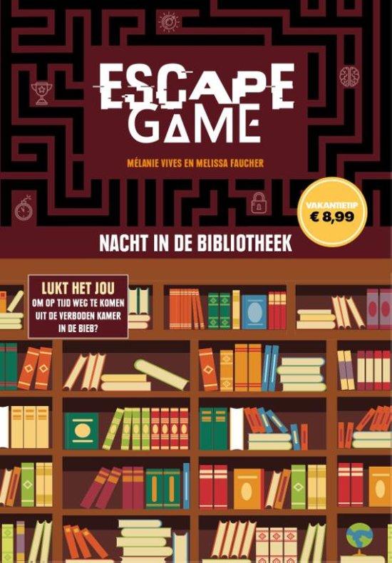 Afbeelding van Escape game - Nacht in de bibliotheek