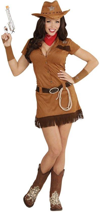 """Cowgirl western kostuum voor vrouwen - Verkleedkleding - Medium"""