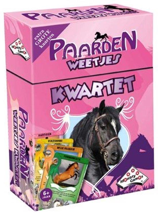 Afbeelding van het spel Identity Games Paarden Weetjes Kwartet