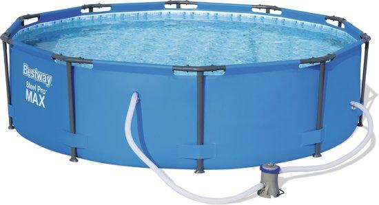 Zwembad Met Pomp.Bestway Steel Pro Max O305 X 76 Cm Zwembad Met Filterpomp