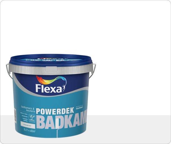 bol.com | Flexa Powerdek Badkamers & Keukens 2,5 L
