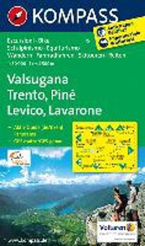 Kompass WK75 Valsugana, Trento, Piné, Levico, Lavarone