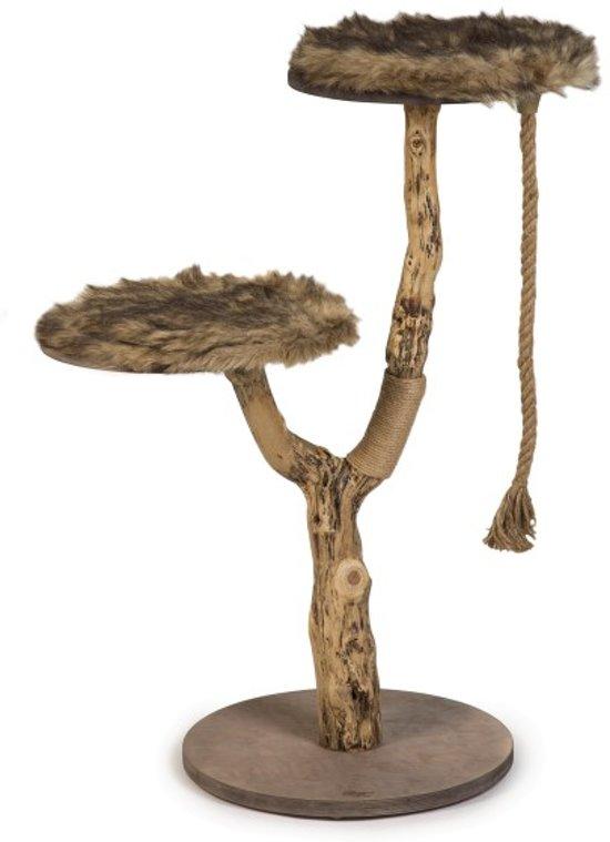 Designed by Lotte Elora - Krabpaal - Hout - 50x50x100 cm