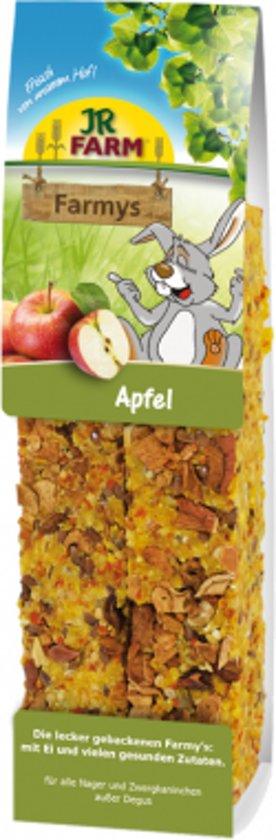 JR Farm - Farmys Appel - 160g - Verpakt per 3 doosjes - Knaagdierensnack