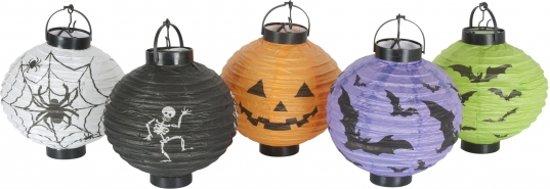 Lampionnen setje 5 stuks Halloween Valentinaa