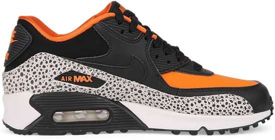 nike air max 90 zwart oranje