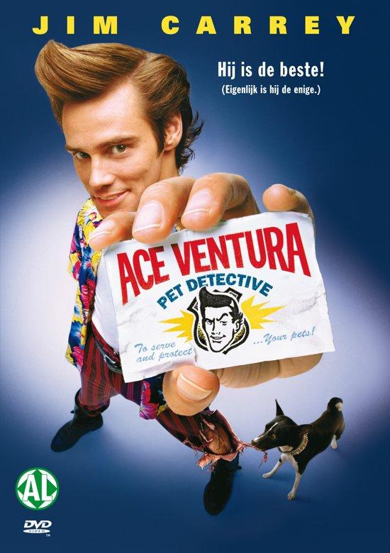 DVD cover van Ace Ventura 1: Pet Detective