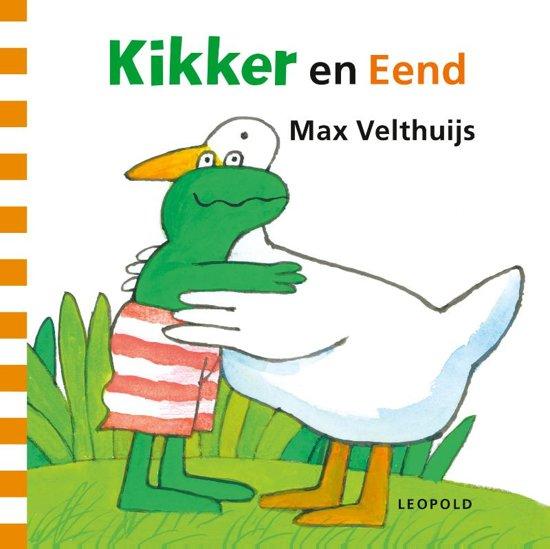 Boek cover Kikker - Kikker en Eend van Velthuijs, Max (Onbekend)