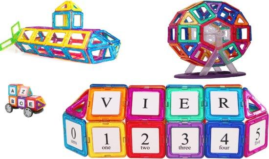 Magnetische Bouwblokken 92 onderdelen