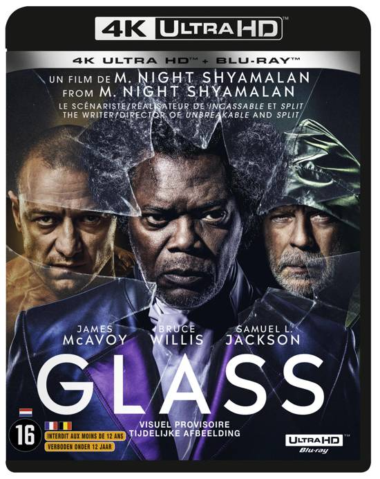 DVD cover van Glass (4K Ultra Hd Blu-ray)