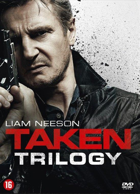 DVD cover van Taken Trilogy