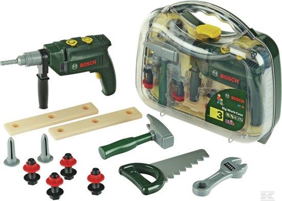 Bosch Gereedschapskoffer met Accessoires - Speelgoed Professional Line