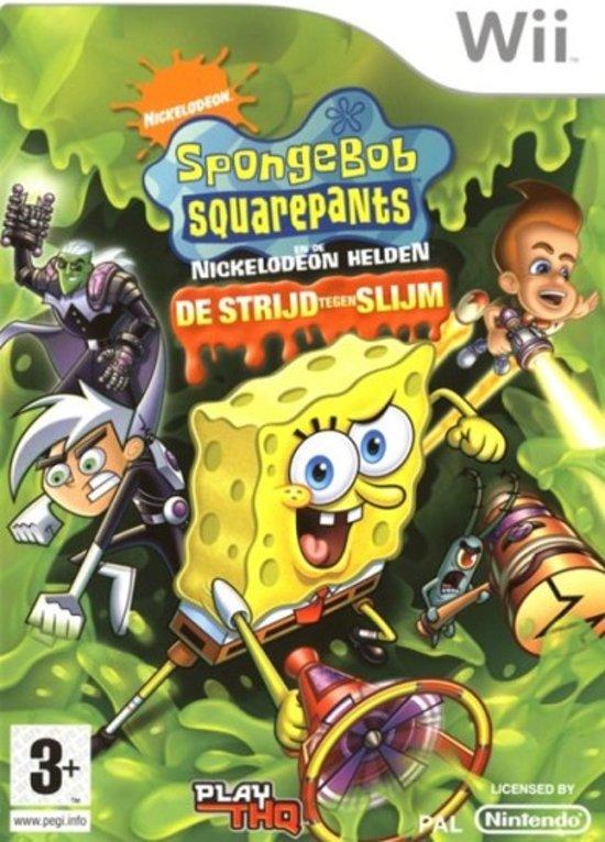 Spongebob En Zijn Vrienden-De Strijd Tegen Slijm