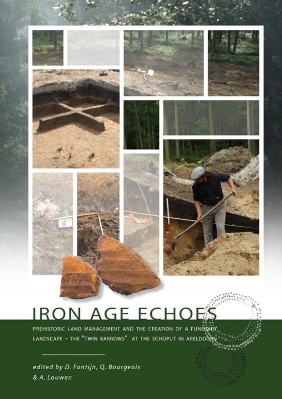 Boek cover Iron age echoes van Quentin Bourgeois (Paperback)