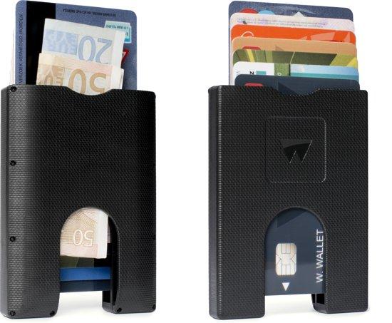 Walter Wallet Kunststof Creditcardhouder - Way Black