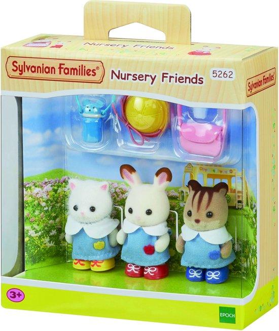 Sylvanian Families 5262 Creche Vrienden  - Speelfigurenset