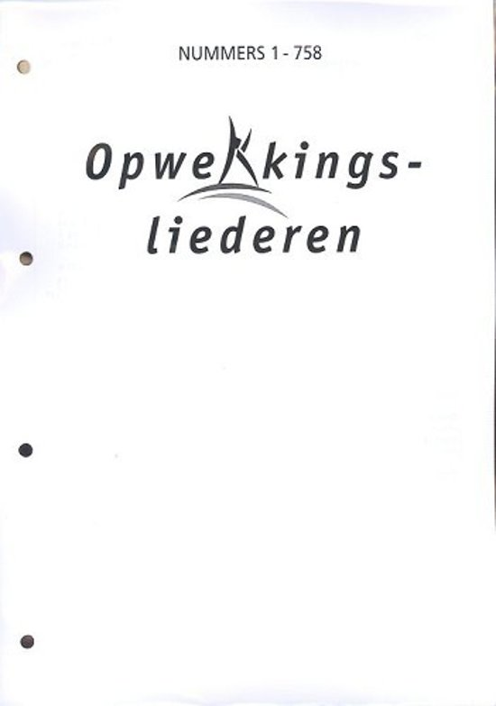 Opwekking tekst A4aanv 37 (747-758) - Diverse auteurs  